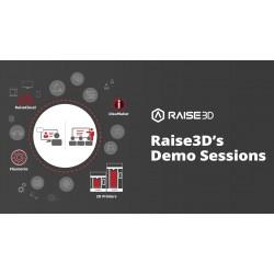 Raise3D PRO2 3D tiskárna - DEMO SESSION