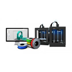 Bundle: Zortrax M200 3D tiskárna v04 + Bočnice + Design CAD 3D Max