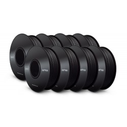 Bundle: 8x Z-ABS Filament Black 0,8kg 1,75mm
