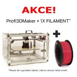 3Dfactories Profi3DMaker + 750g PLA